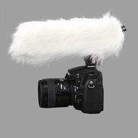 Esydream Sensitivity Adjustable Directional Condenser Shotgun Microphone for Nikon Canon Sony Pentax DSLR Camera