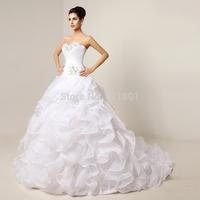 sexy wedding dresses vestido de noiva real picture wedding dress ball gown fashionable vestidos de noiva plus size brides satin