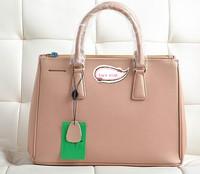 Women's Genuine Leather Cowhide Messenger Bags Navy beige black Hand bags pop star diagonal bags
