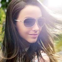 Free Shipping Helen Keller Sunglasses Polarized Sunglasses  Aviator Style  UV  Protection Optical Eyewear Sunglasses