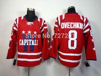 2014 Washington Hockey Jersey #8 Alex Ovechkin Jersey Cheap Ice Hockey Jersey Stitched Jerseys Free Shipping