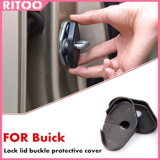 FOR Buick Regal/LaCrosse/ENCORE/Excelle Door lock lid buckle protective cover car stickers decorative buckle Door lock Refit(China (Mainland))
