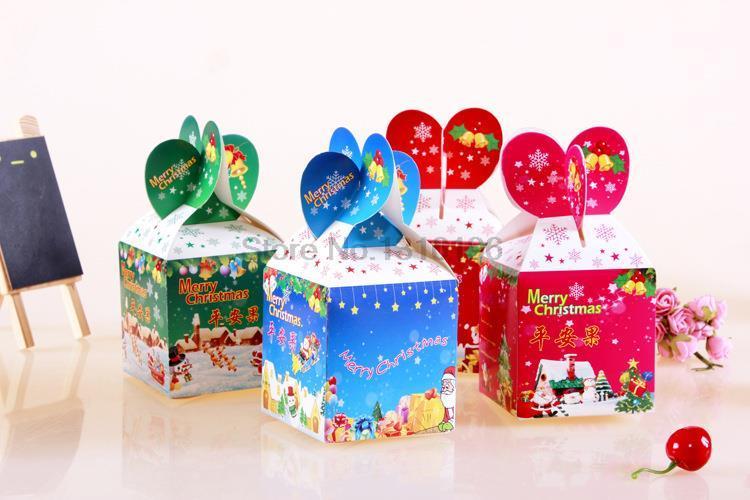 Christmas ornaments cheap, large Christmas decorative gift box/safe box/gift box/Christmas/Christmas Apple tree(China (Mainland))