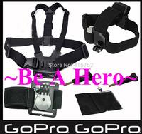 Gopro Accessories Go pro hero3 Hero 4 Black Edition Kit For Sj4000 Sj5000