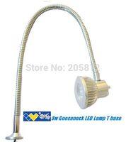 3W gooseneck led read lamp/gooseneck machine led tool light/gooseneck task led lamp