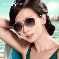 Helen Keller Fashion Classic Aviator Style Retro Women Eyewear UV Protection   Polarized Sunglasses