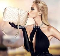 Hot Sale ! Free Shipping Fashion New Design Rivet PU Leather Women Shoulder Bag Lady Messenger Bag
