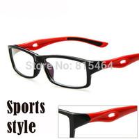 Outdoors fashion designer brand sports nerd glasses men anti-fatigue UV400 eyewear optical frame women vintage eye glasses gafas