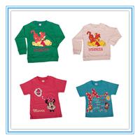 2014 summer girl t shirt 100% cotton Simple pure color variety peppa pig cartoon design boy's t shirt