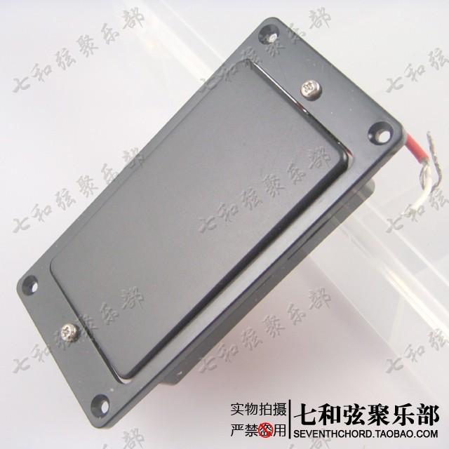 A set of 2 Pcs Black Sealed Closed Double Coil Electric Guitar Pickups Humbucker (Bridge & Neck)(China (Mainland))