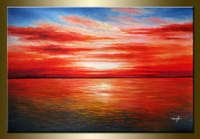 100% by hand Huge WALL CANVAS ART OIL PAINTING_WQ226