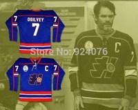 Doug The Thug Gord Ogilvey #7 Halifax Highlanders Jerseys Hockey Captain Patch - Custom Any Name Number XXS-6XL