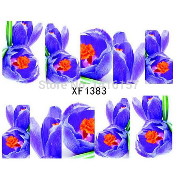 Наклейки для ногтей Fashion-style  XF1383