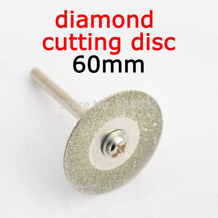 diamond cutting disc for mini drill dremel tools accessories 60mm diamond disc steel rotary tool circular saw abrasive saw blade(China (Mainland))