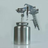 High quality manual air W-77 spray gun with pot pneumatic tools 2.0 2.5 3.0 caliber ,Free shipping