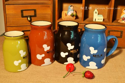 [ Durian shop ] zakka grocery retro ceramic mug breakfast cup Milk Cup five small color into TC2013031(China (Mainland))