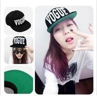 VOGUE Brand Snapback Baseball Cap Vogue Letter Pattern Popular Fashion Trend Adjustable Snapback Baseball Hat Cap