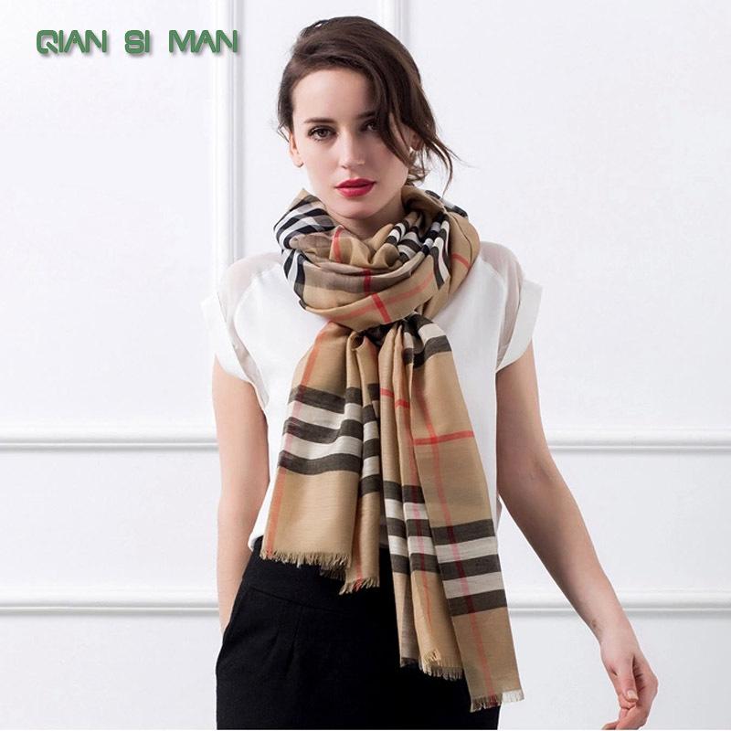 2014 New British style Cotton scarf Men and women's designer plaid scarf(China (Mainland))