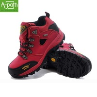 2014 new winter  outdoor  hiking shoes lovers men women mountaineering sports shoes slip-resistant waterproof walking shoes