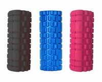 34x14cm FOAM GRID ROLLER HOME GYM MASSAGE PHYSIO TRIGGER POINT INJURY YOGA ROLLER CROSSFIT THERAPY