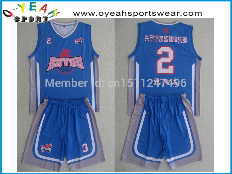 custom basketball uniforms sublimation basketball uniforms printed youth logo in sublimated(China (Mainland))