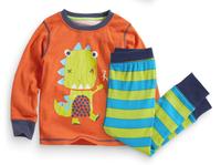 2015 New Arrival dinosaur Pajamas 100% Cotton Baby Pijamas Kids sleepwear clothing Boys Pyjamas Children's wear 6set/lot