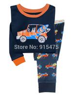 2015 New Arrival Car  Children's Pajamas 100% Cotton Baby Pijamas Kids sleepwear clothing Boys Pyjamas Children's wear 6set/lot