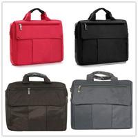 4PCS/lot Free Shipping DHL One Shoulder Handbag Womens 14 inch 15 inch Nylon Notebook Bag Mens Laptop Bag