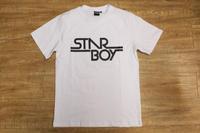 Sport All Star Boy Letter Print  Short Sleeve T-Shirt Hip hop S/S T Shirt  Basic Round Neck Tee Undershirt