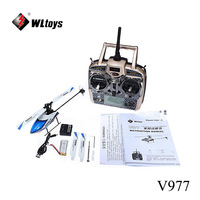 Free Shipping WLToys V977 Power Star X1 6CH RC Helicopter RTF Brushless Motor 3D Mode Switch Function Original Pack Helicoptero