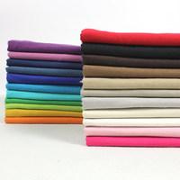 Plain solid color linen fabric cotton linen clothing DIY cloth pants cotton linen, handmade fabric backgrounds