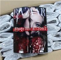 Fashion Brand printing magazine cover lady Gaga evening bag day clutch chain plastic star posters handbag messager bags