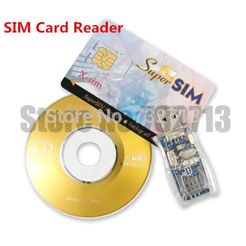 GSM CDMA Handy USB2.0 SIM Karte Kartenleser-copy(China (Mainland))