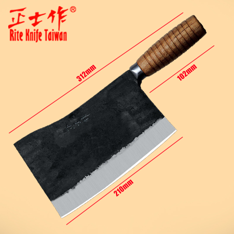 Stainless Steel Kitchen Knives Cooking Tools Chop Bone / Cut Cutter / Slicing / Vegetable/ Hand-forged knives chef special(China (Mainland))