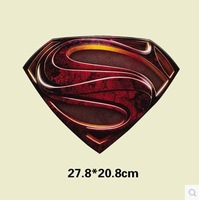 27.8*20.8cm / retro superman / personality printed t-shirts, fleece / wholesale and retail