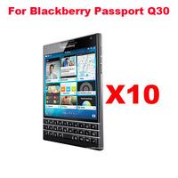 10pcs/Set HIGH Clear LCD Screen Protectors Screen Film Screen Guard For Blackberry Passport Q30