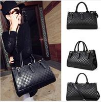 Free shipping 4 color ladies shoulder bag crossbody New Women Messenger Bag Fashion PU Leather Black Handbag Tote HB03