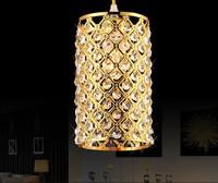 Modern LED k9 crystal chandeliers bedroom living room dining Golden / silver  chandelier