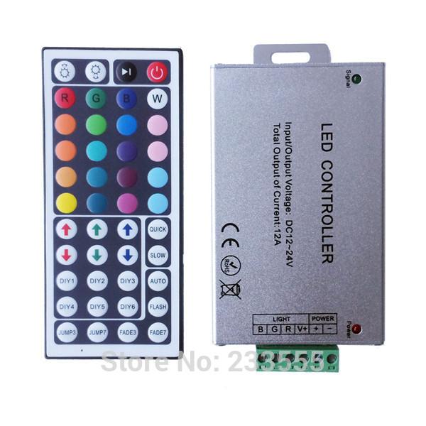 RGB контролер Mini 100 12 44Key dc12v/24v RGB 5050 3528 5050 3528 RGB rgb контролер 30pcs 28keys dc12v irs28k 6a