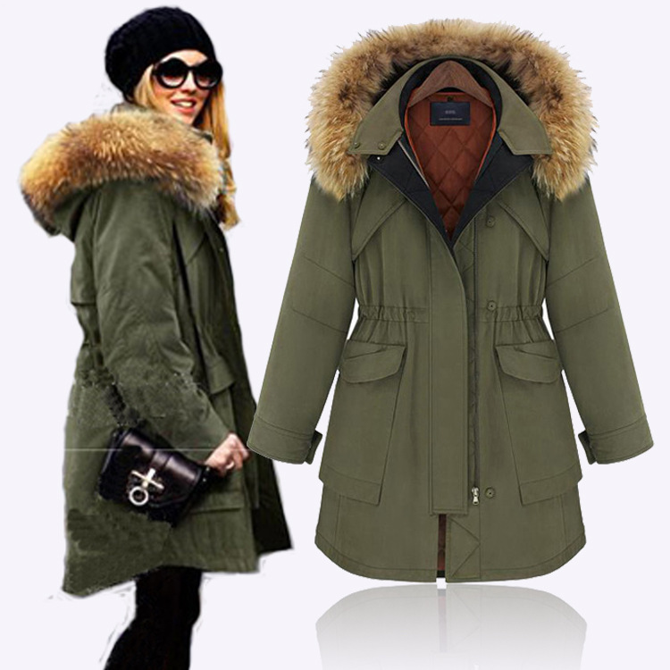 Parka Jacket With Hood - JacketIn