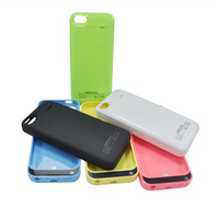 Hot! 2200mah for iphone 5 5s 5c external battery charger case backup portable power bank charger cell phone case(1pcs/lot )
