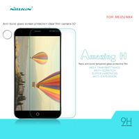 Original NILLKIN Amazing H HD Clear Tempered Glass Protective Film For Meizu MX4 Screen Protector