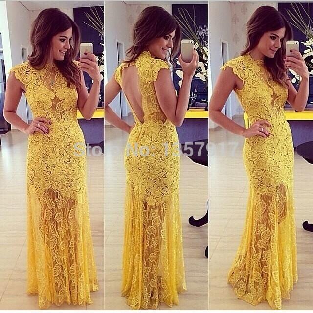 Aliexpress buy 2015 sheer vintage wedding dresses lace appliqued