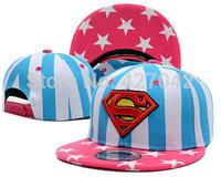 New Colors Superman Hip-hop Snapback Baseball Cap Fashion Trend Adjustable Snapback Baseball Hat Cap