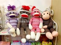 50cm schylling SOCK MONKEY plush toys baby gift toys