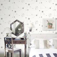 Constellation Sky Mural Wallpaper Roll Kids Bedroom zk09 papel de parede fantasia infantil menino