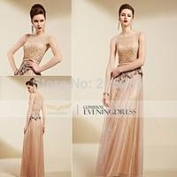 82063 top quality design  2015 New Lace Sleeveless Evening Dress elegant Dress 1pc+free shipping