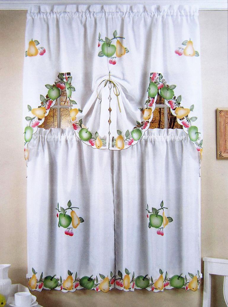 Compra cortinas de frutas cocina online al por mayor de - Tela para cortinas cocina ...