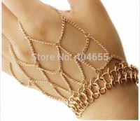 HA006 Wholesale 6pcs/lot Free shipping fashion hand bracelets  jewelry body chains mail necklace
