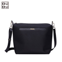 Free shipping DUDU new designer  women pu leather handbag fashion bucket one shoulder messenger bag lady